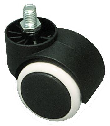 Ersatz-Doppel-Laufrolle für SMOOTH ROLLI CHROM und BEAUTY EXKLUSIVE Rollhocker