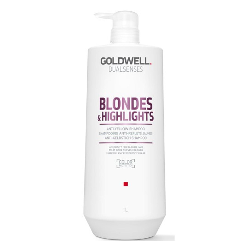 GOLDWELL Dualsenses Blondes & Highlights Anti-Yellow Shampoo 1 L