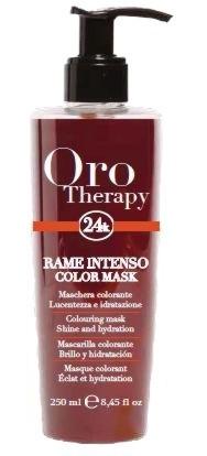 Fanola ORO PURO Therapy Color Mask rame intenso 250 ml