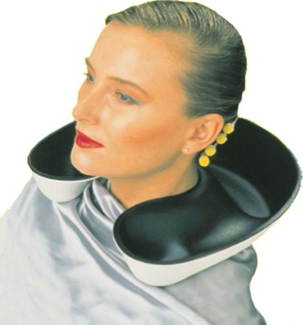 Softsink Deluxe Halsschutzschale schwarz-weiß