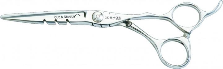 COSMOS Cut & 3teeth Haarschneideschere