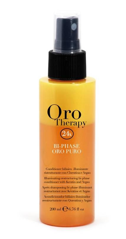 Fanola ORO PURO Therapy Bi-Phase Conditioner 200 ml