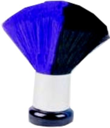 MIX COLOR Nacken- und Kosmetikpinsel blau/schwarz