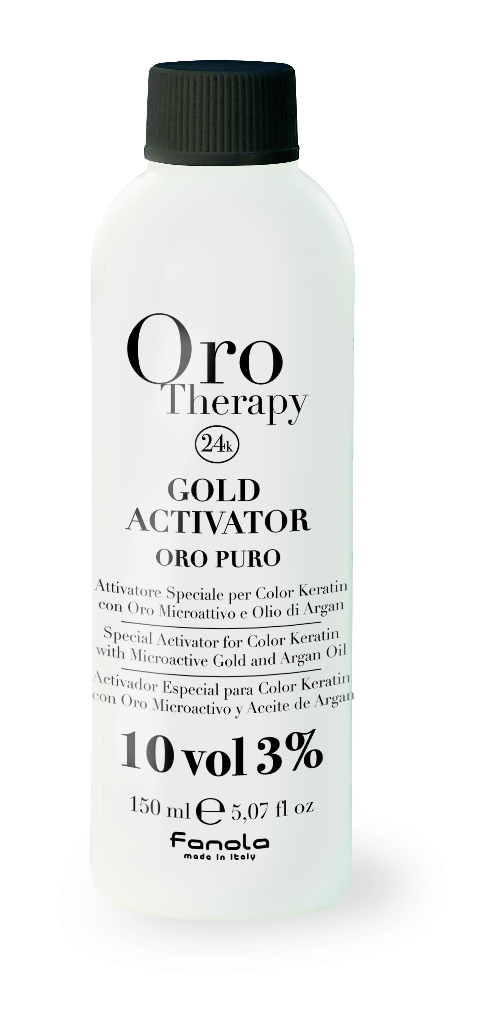 Fanola ORO PURO Therapy Gold Activator 150 ml