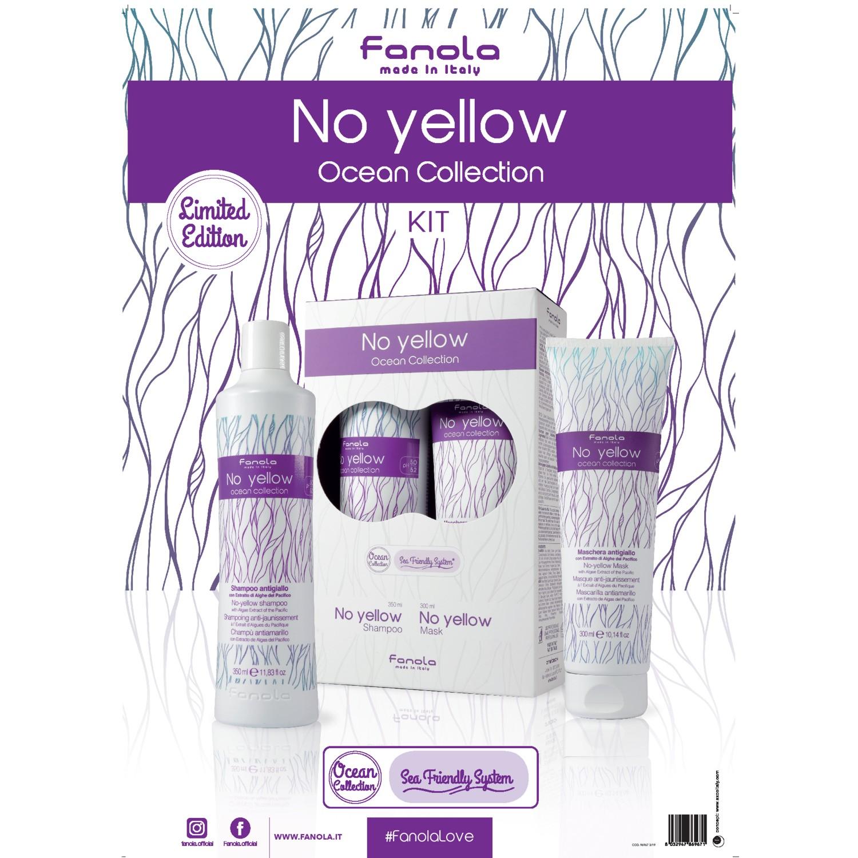 Fanola No Yellow Ocean Collection Poster