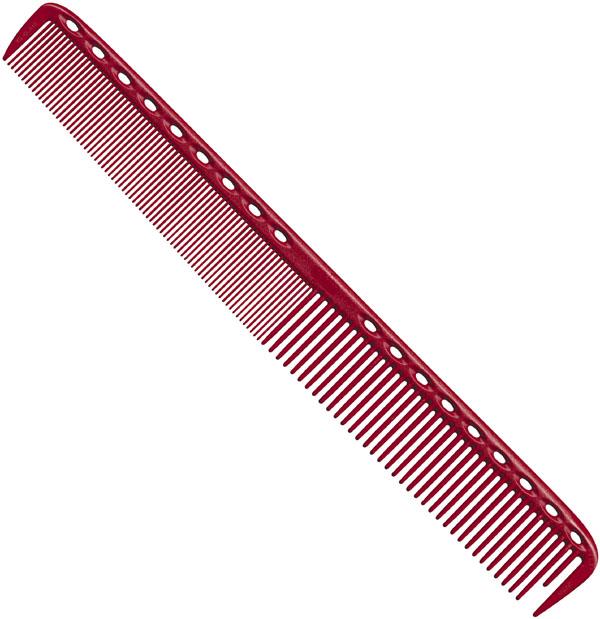 Y.S. Park Haarschneidekamm Nr. 335 Rot