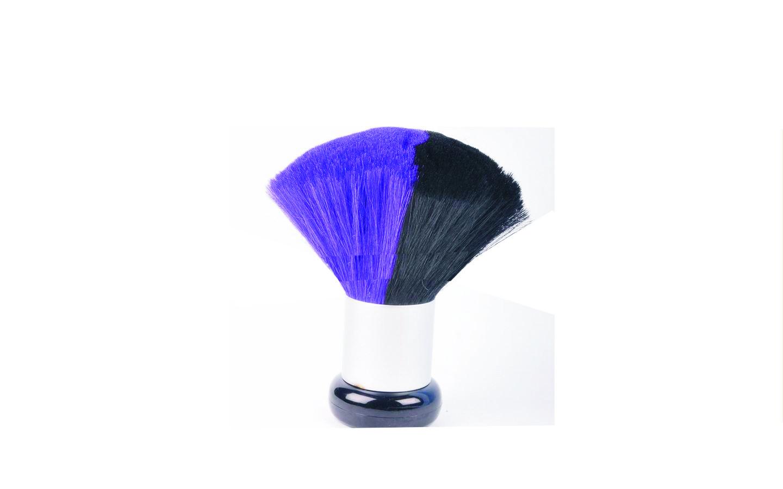 MIX COLOR Nacken- und Kosmetikpinsel violett/schwarz