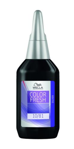 WELLA Color Fresh Silver Liquid 75 ml
