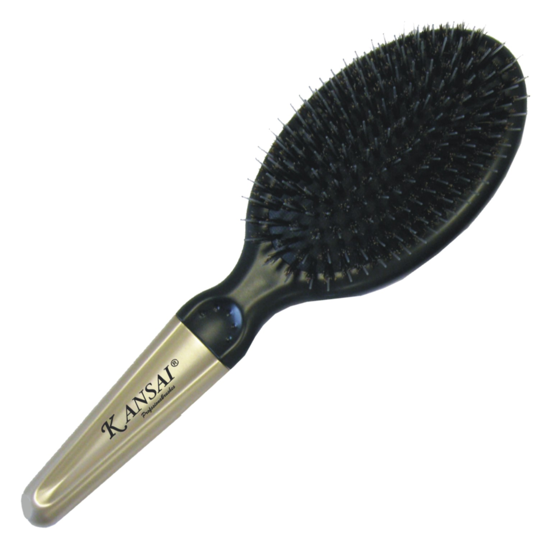 Kansai Paddle Brush Oval Rosegold