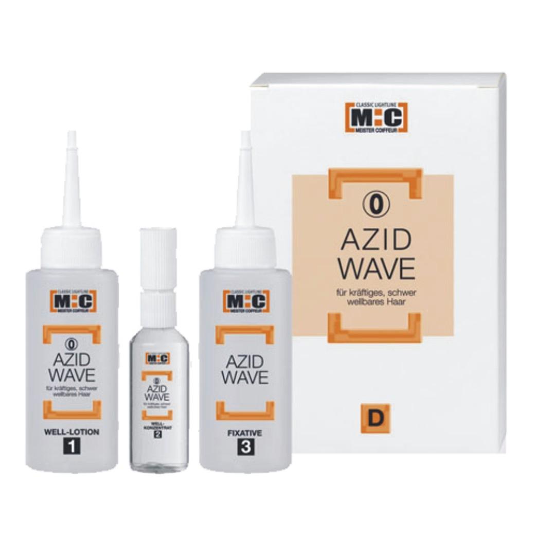 Meister Coiffeur M:C Azid Wave 0 D, 2 x 80 ml