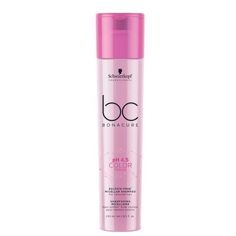 Schwarzkopf BC pH 4.5 COLOR FREEZE Sulfate-Free Micellar Shampoo 250 ml