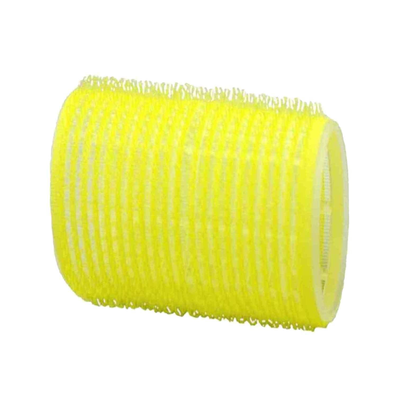 HairCult Haftwickler JUMBO 60 mm, 6 St., Ø 66 mm gelb