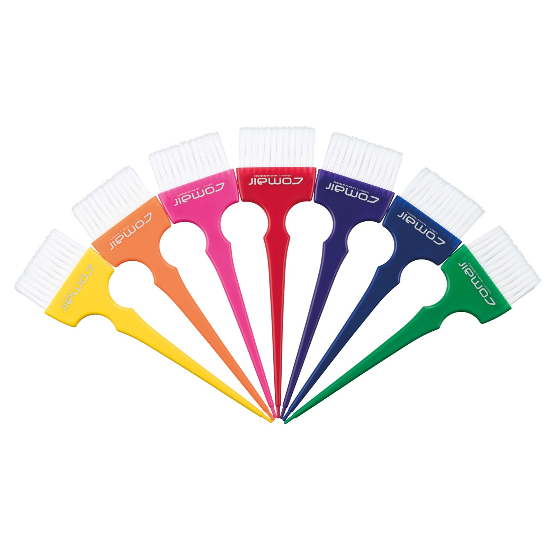 Comair Rainbow Färbepinsel-Set breit
