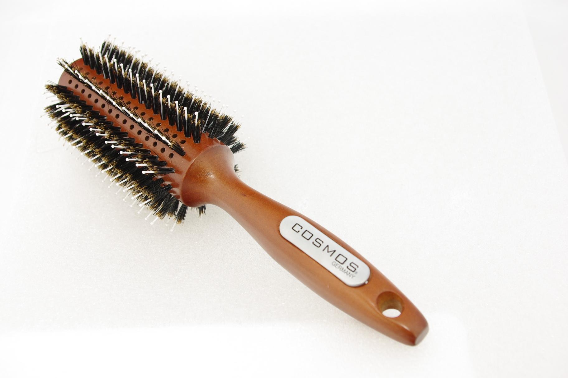 COSMOS ''Styling Brush White Pins'' Rundbürste