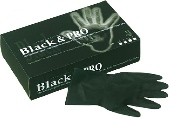 Black & Pro Latexhandschuhe 20 St.