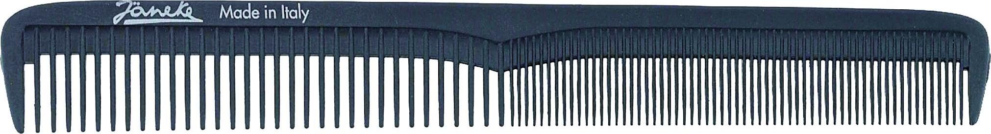 Jäneke Carbon Haarschneidekamm 7,25''