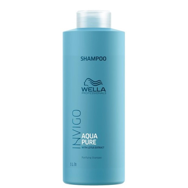 Wella Invigo Balance Aqua Pure Purifying Shampoo 1 L