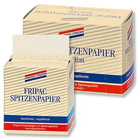 FRIPAC-MEDIS Spitzenpapier naturbraun 1000 Blatt