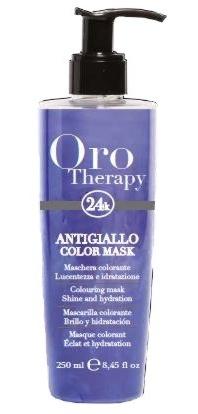Fanola ORO PURO Therapy Color Mask antigiallo 250 ml