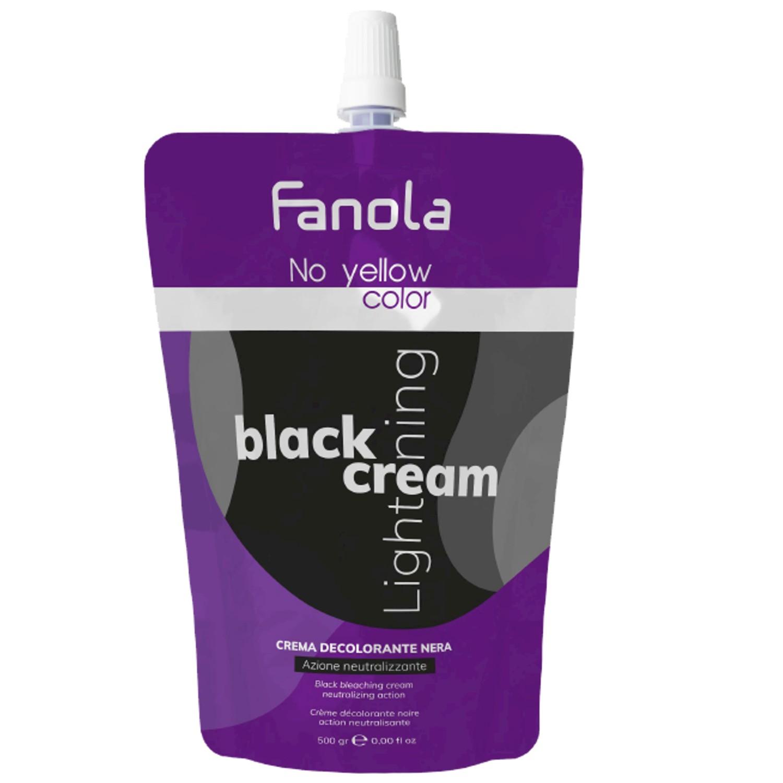 Fanola No yellow Color Lightening Cream Black 500 g
