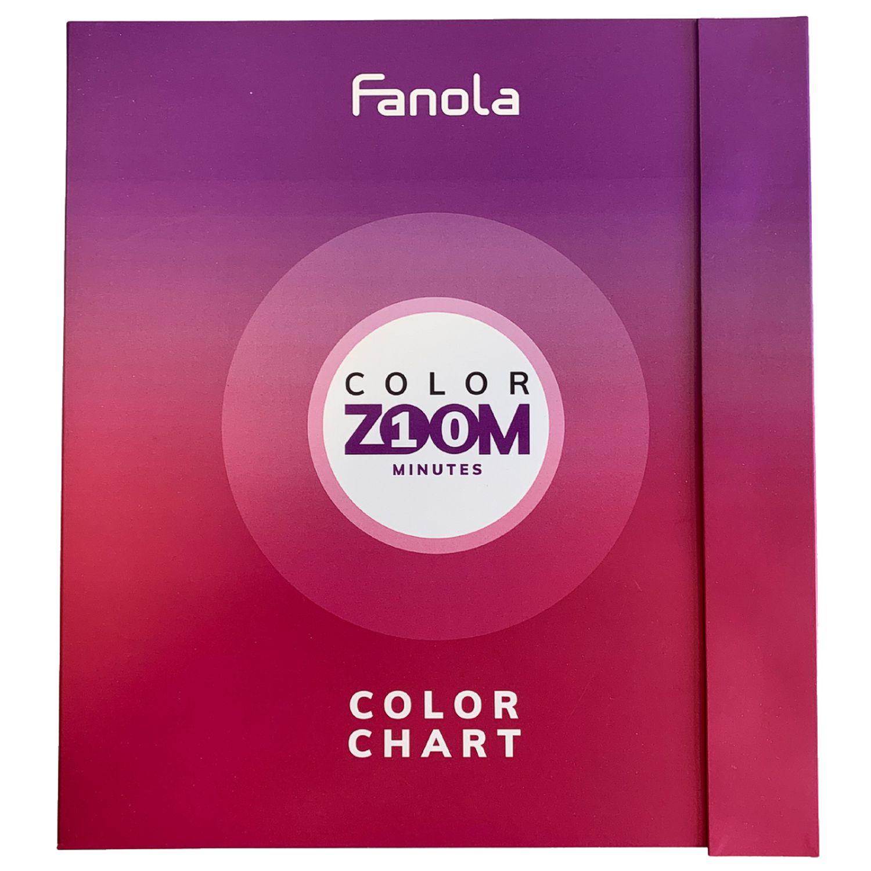 Fanola Color Zoom 10 Minutes Farbkarte