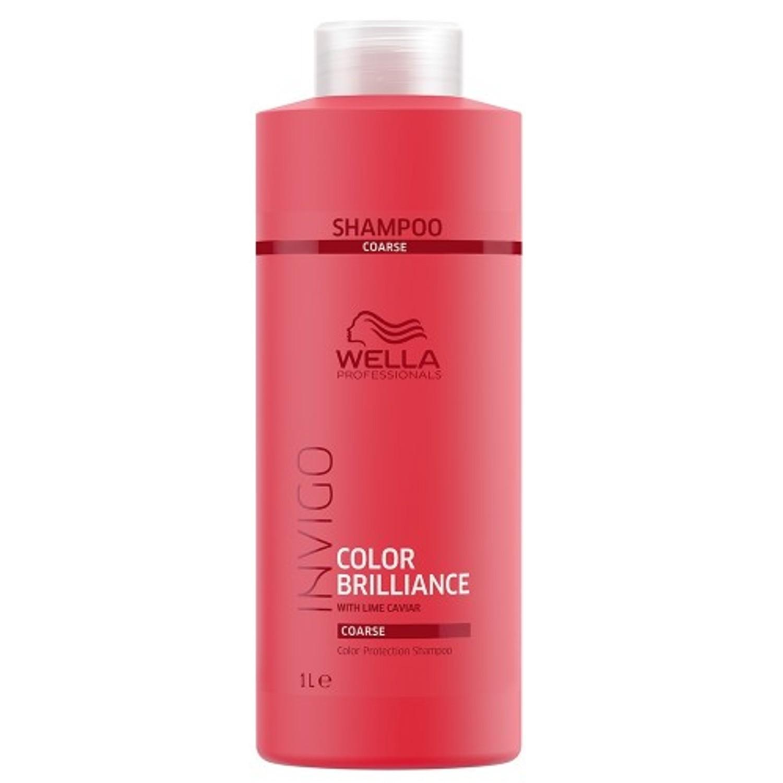 Wella Invigo Color Brilliance Color Protection Shampoo Coarse 1 L