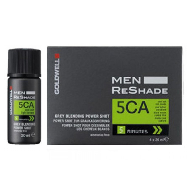 GOLDWELL Men Reshade Grey Blending Power Shot 4 x 20 ml