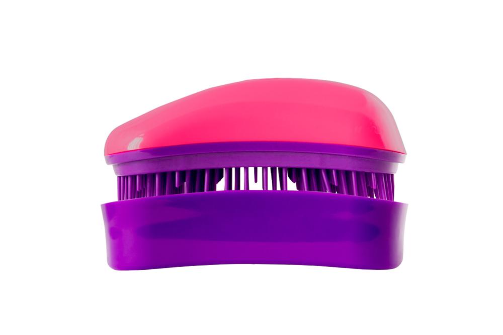 Dessata Mini-Anti-Tangle Bürste fuchsia/violett