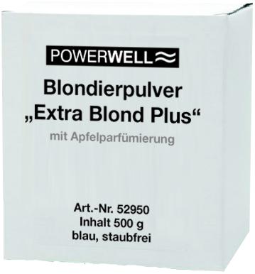 POWERWELL Blondierpulver Extra Blond Plus 500 g