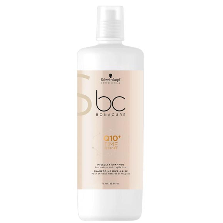 Schwarzkopf BC Q10+ TIME RESTORE Micellar Shampoo 1 L