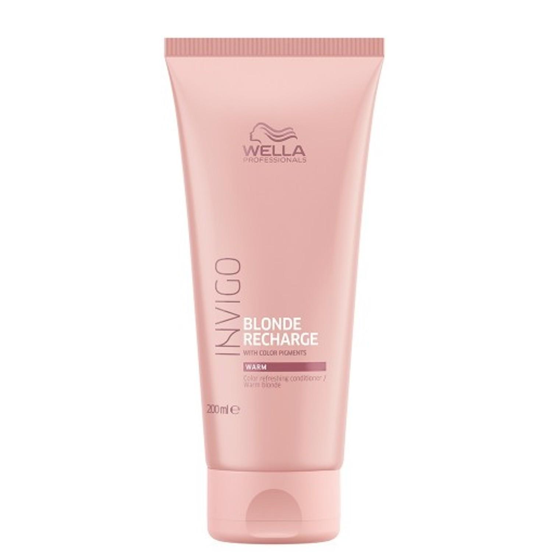 Wella Invigo Blonde Recharge Warm Blonde Color Refreshing Conditioner 200 ml