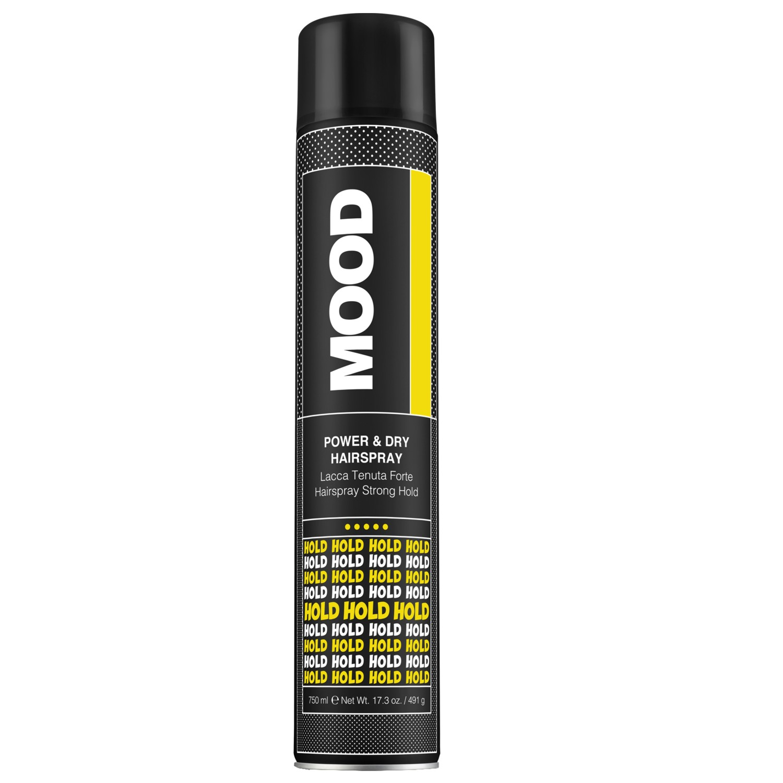 MOOD Power & Dry Hairspray 750 ml