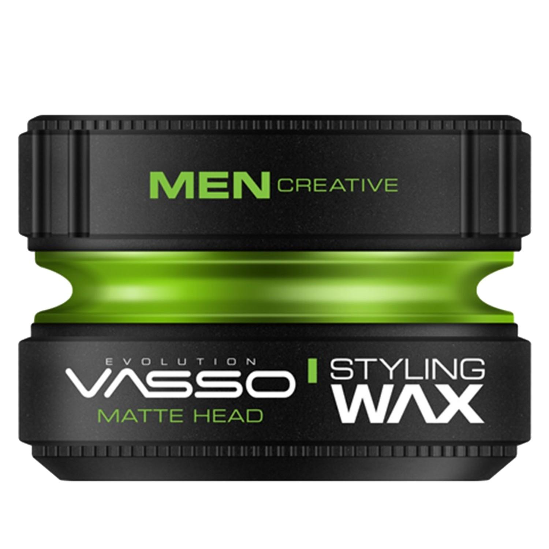VASSO MEN CREATIVE Styling Wax Pro-Matte ¨MATTE HEAD¨ 150 ml