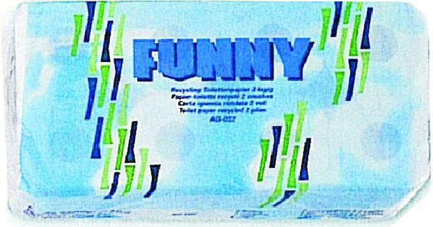 FUNNY Toilettenpapier Standard 64 x 250 Blatt