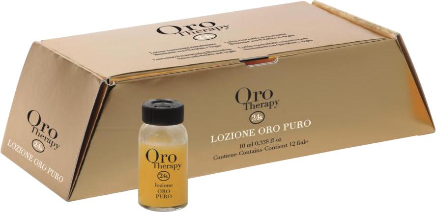 Fanola ORO PURO Therapy Lotion 12 x 10 ml