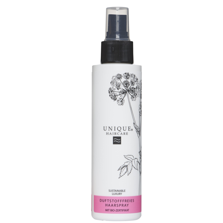 UNIQUE Haircare Duftstofffreies Haarspray 150 ml