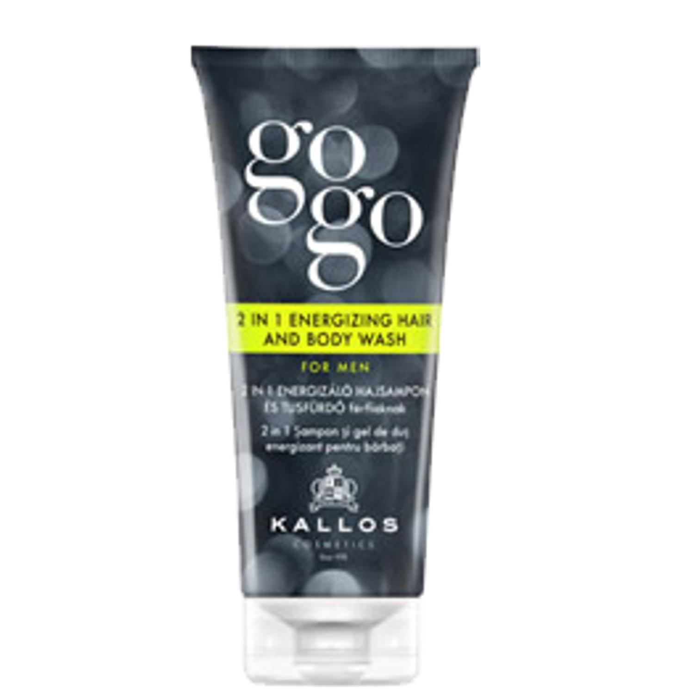 KALLOS COSMETICS KJMN GoGo Men 2in1 Energizing Hair & Body Wash 200 ml