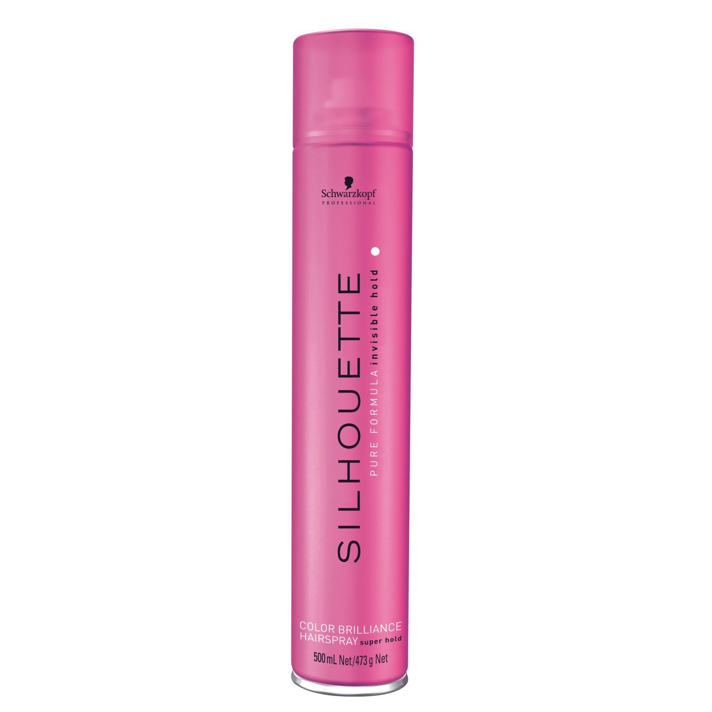 Schwarzkopf SILHOUETTE COLOR BRILLIANCE Super Hold Hairspray 500 ml