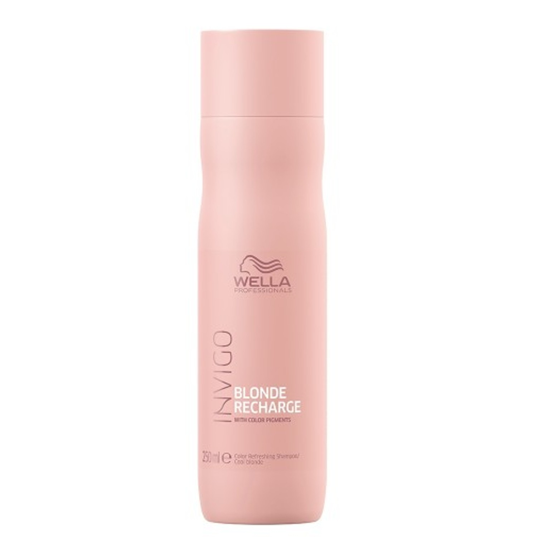 Wella Invigo Blonde Recharge Cool Blonde Color Refreshing Shampoo 250 ml