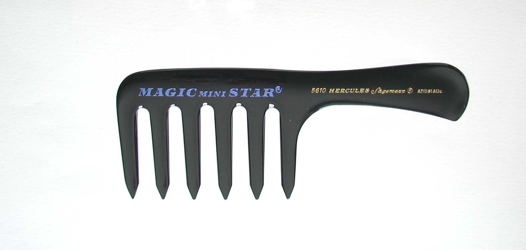 Hercules Sägemann 5610 MAGIC Mini STAR Griffkamm 6,5''