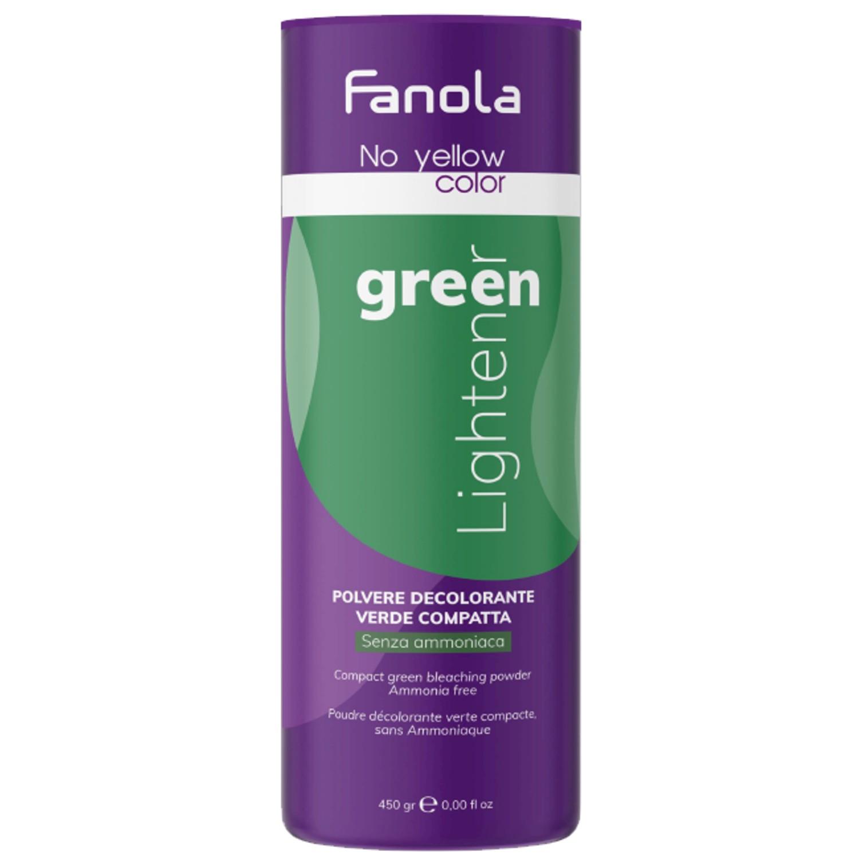 Fanola No yellow Color Green Lightener 450 g