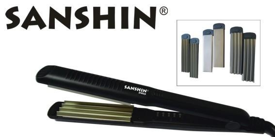 SANSHIN Multi Styler 3in1 schwarz inkl. 3 Einsätze