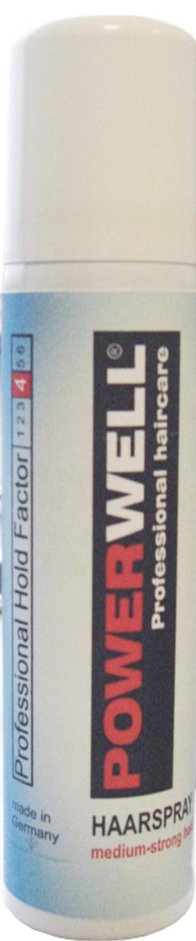 POWERWELL Haarspray mittelstarker Halt 75 ml
