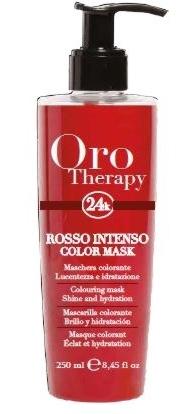 Fanola ORO PURO Therapy Color Mask rosso intenso 250 ml