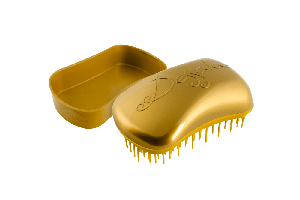 Dessata Mini-Anti-Tangle Bürste new gold