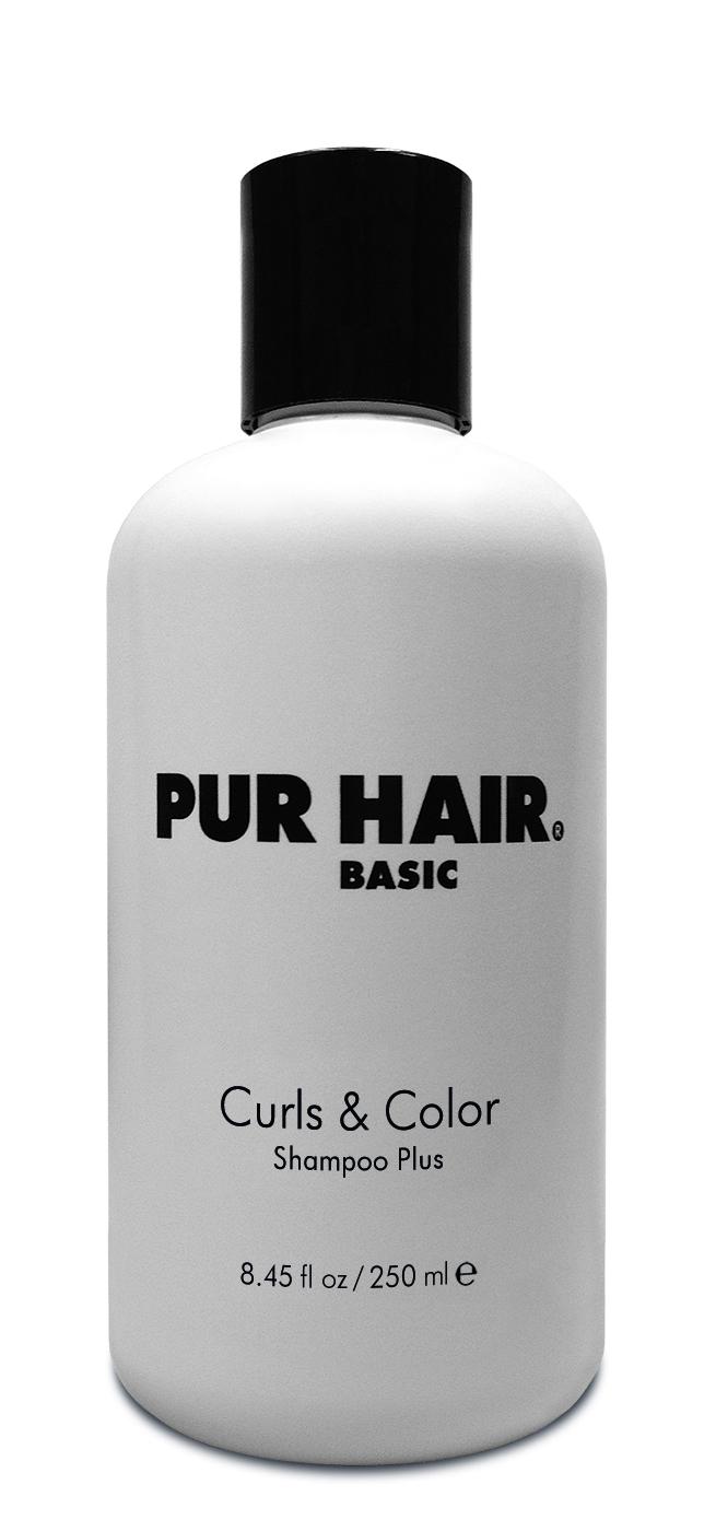PUR HAIR Basic Curls & Color Shampoo Plus 250 ml