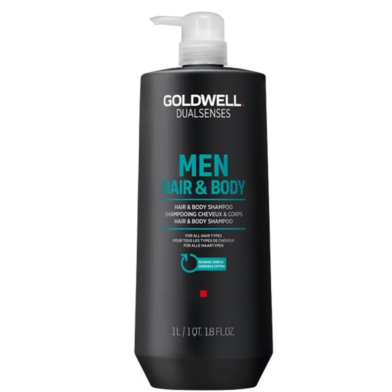 GOLDWELL Dualsenses Men HAIR & BODY SHAMPOO 1 L