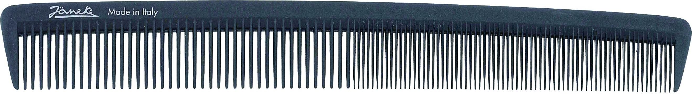 Jäneke Carbon Haarschneidekamm 9,0''