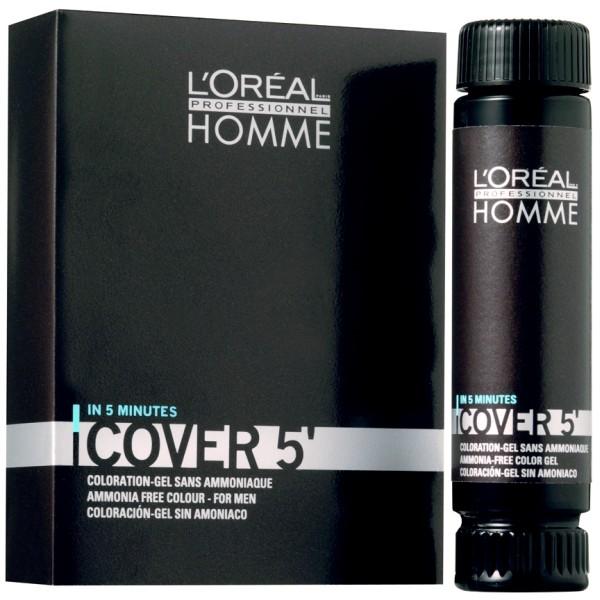 L'ORÉAL HOMME Cover 5' Coloration 3 x 50 ml