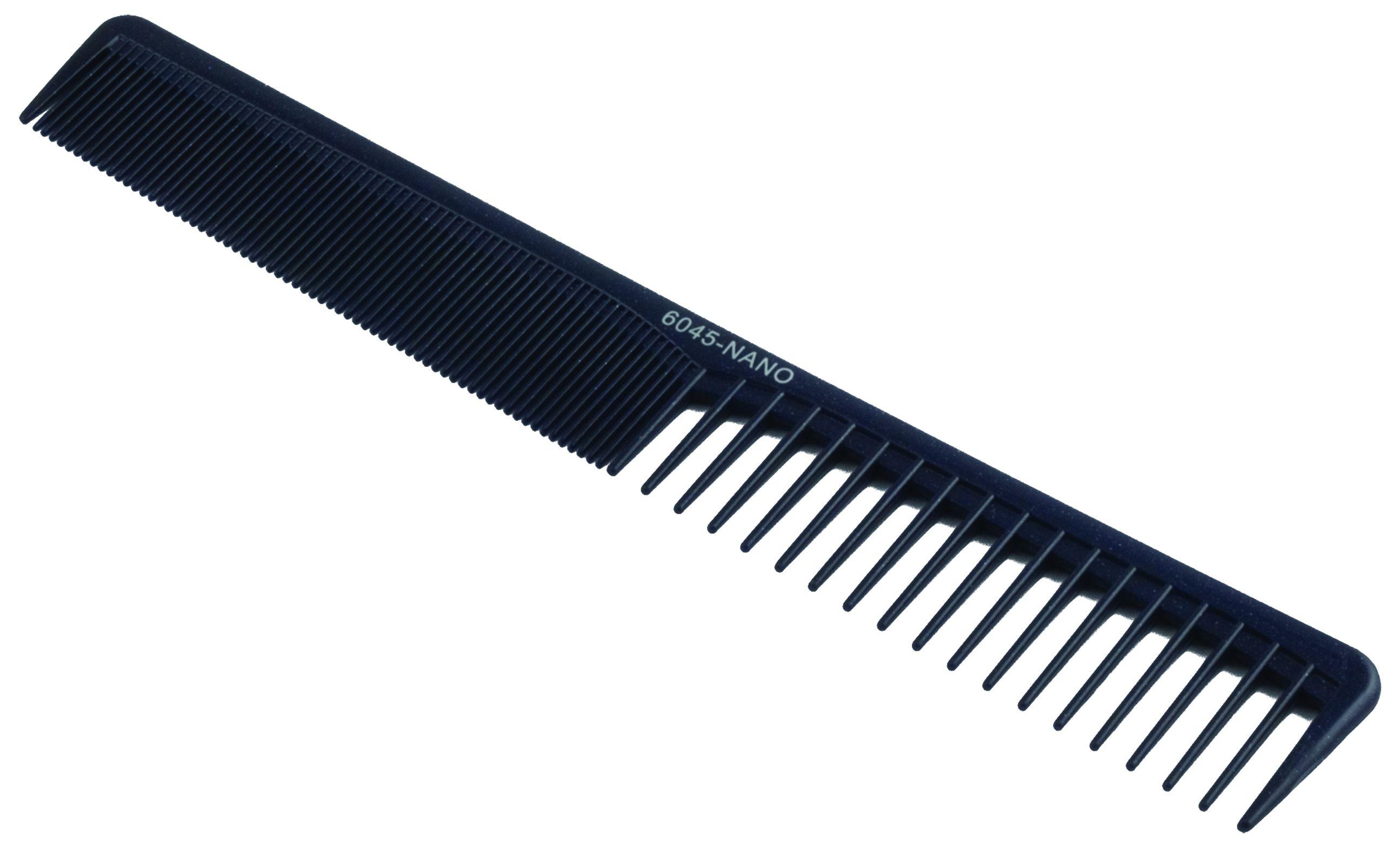 KANSAI Nano Haarschneidekamm schräg weit gezahnt 7,5''